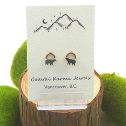Coastal Karma Jewels- Earrings - Pacific Crest Bear