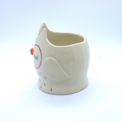 Kayo Benson - Small Planter - Red Owl