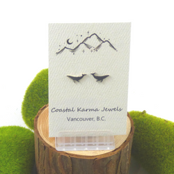 Coastal Karma Jewels- Earrings - Humpback Whale