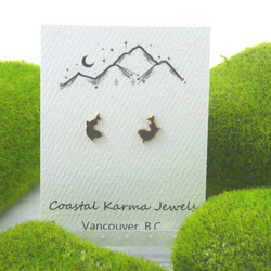 Coastal Karma Jewels- Earrings - Wild Salmon