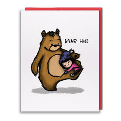 Studio Vcky – Card – Bear Hug