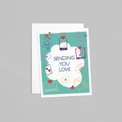 Brightside Doodles - Card - Sending You Love