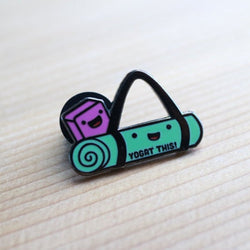 Craftedvan - Enamel Pin – Yoga