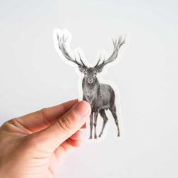 Pen on Paper - Stickers - Elk