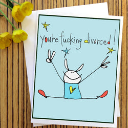 RabbitRabbit - Divorced Card