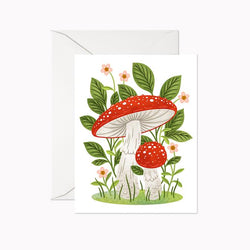 Linden Paper Co. - Cards - Fly Agaric Mushrooms