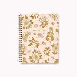 Linden Paper Co. - Spiral Notebook - Golden Woods