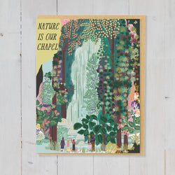 Anja Jane – Card – Nature is our Chapel