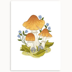 Linden Paper Co. - Prints - Gypsy Mushrooms