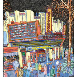 Keith McKellar – Print – Hollywood Theatre