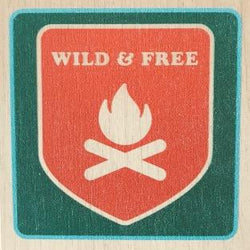 Reclaimed Print - Coaster – Camp & Canoe