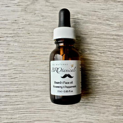 Be Natural Botanicals- Beard Oil– Rosemary & Peppermint