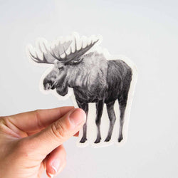 Pen on Paper - Stickers - Moose