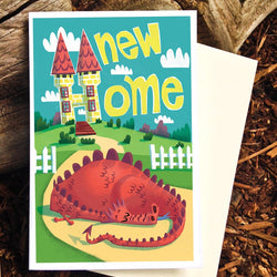 Pickle Punch – Greeting Cards - New Home Dragon