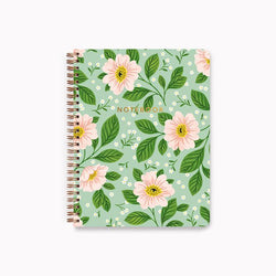 Linden Paper Co. - Spiral Notebook - Rosa Floral