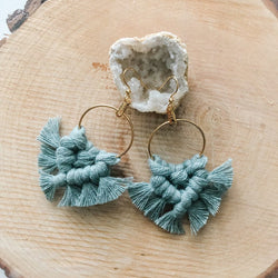 Lily + Lyla – Earrings – Macrame