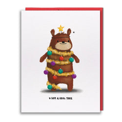 Studio Vcky - Card - Tree Bear