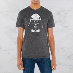 Robbie Vergara – T-Shirt – Bow Tie Heather Grey