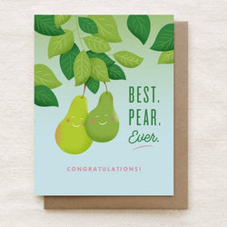 Quirky Paper Co. - Card - Pear