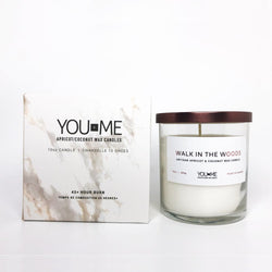 YouPlusMe - Glass Candle