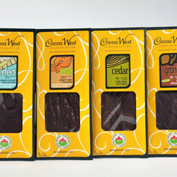 Cocoa West - Organic Chocolate Bars