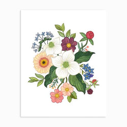 Linden Paper Co. - Prints - Dogwood Floral