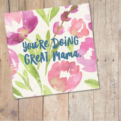 Raincity Prints - Cards - You're Doing Great Mama