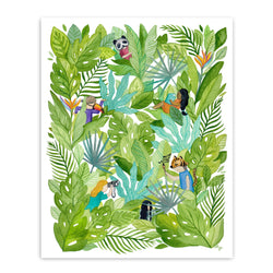 Art & Soul Creative Co - Prints - Freaks in Foliage