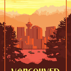 Mike Swallow– Print – Vancouver Sunset