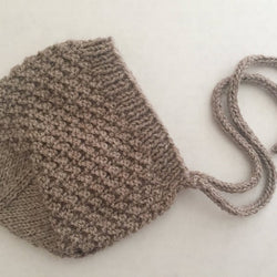 Eiffel & Eyre - Knitted Bonnet - 6 to 9 Months