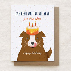 Quirky Paper Co. - Card - All Year Dog