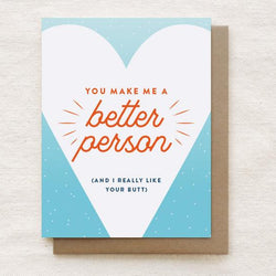 Quirky Paper Co. - Card - I like your Butt