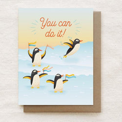 Quirky Paper Co. - Card - Penguins