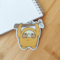 Mint and Woolly - Sticker - Sloth