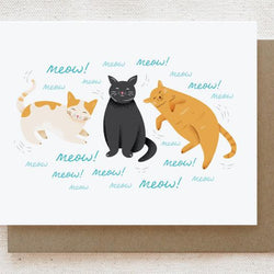 Quirky Paper Co. - Card - Sweet Cats