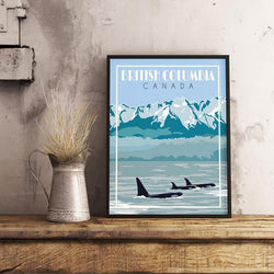 Mike Swallow– Print – British Columbia