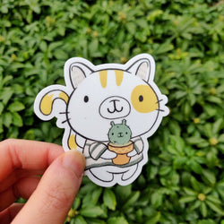 Mint and Woolly - Sticker - Cat