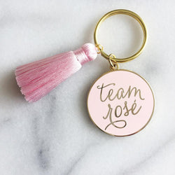 Raincity Prints - Keychain - Team Rosé