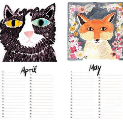 Draw Me A Lion - Birthday Calendar