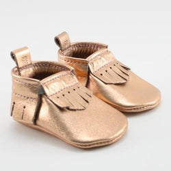 Mally Design - Mally Mocs - Metallic Leather