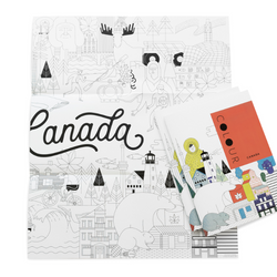 Pender Gai Books - Colouring Book Canada