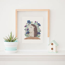Art & Soul Creative Co - Prints - Herbert the Hedgehog