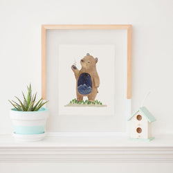Art & Soul Creative Co - Print - Pabu the Spirit Bear