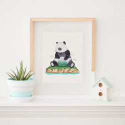 Art & Soul Creative Co - Prints - BaoBao the Panda