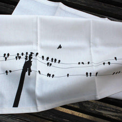 Riding The Pine - Tea Towel - East Village