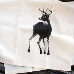 Riding The Pine - Tea Towel - Canadian Buck