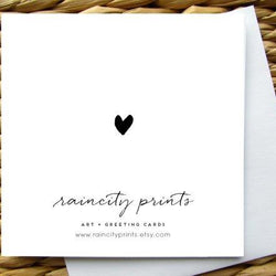 Raincity Prints - Cards - Let's Grow Old Together