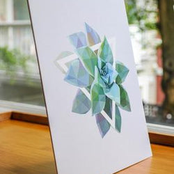 Justindeed - Prints - Green Succulent