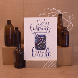 Bek Design - Prints- Lightning in a Bottle