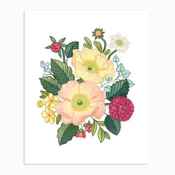 Linden Paper Co. - Prints - Poppy Floral